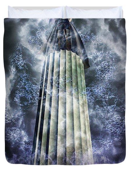 The Stormbringer Duvet Cover by John Edwards