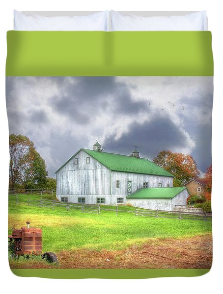 The Storms Coming Duvet Cover