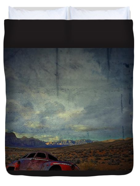 The Story Goes On  Duvet Cover