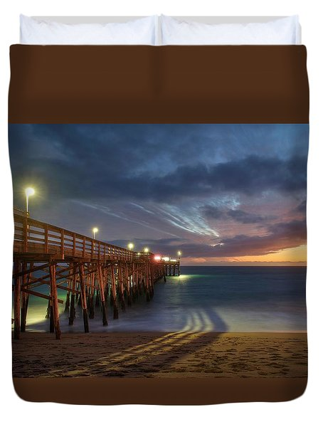 Duvet Cover featuring the photograph The Story Needs Some Mending And A Better Happy Ending by Quality HDR Photography