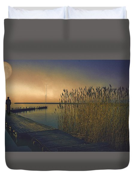 The Stranger Duvet Cover by Brian Tarr