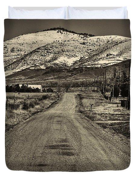 The Street Where Roo Lives Duvet Cover