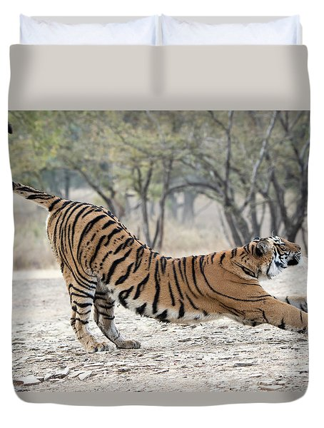 The Stretch Duvet Cover