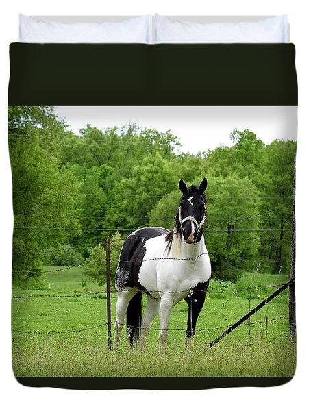 The Strong Horse Duvet Cover