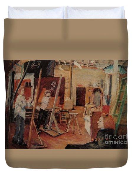 The Studio Duvet Cover