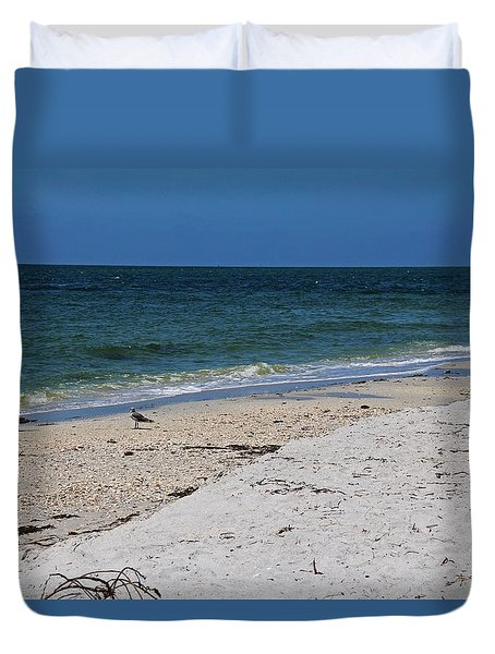 Duvet Cover featuring the photograph The Stuff That Never Happened by Michiale Schneider