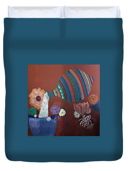 The Substance Of Life Duvet Cover