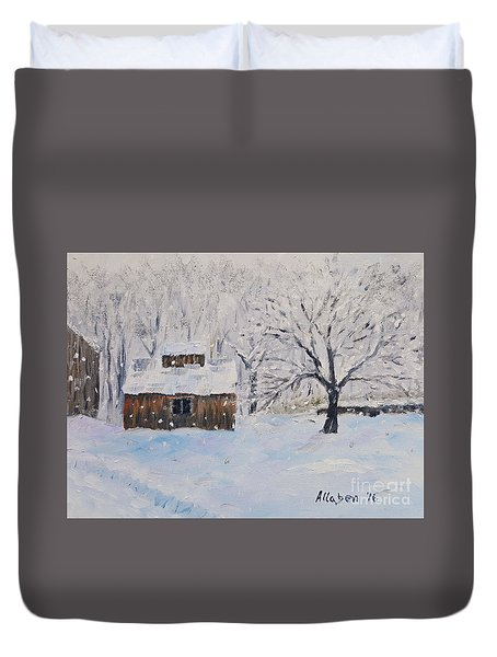 The Sugar House Duvet Cover