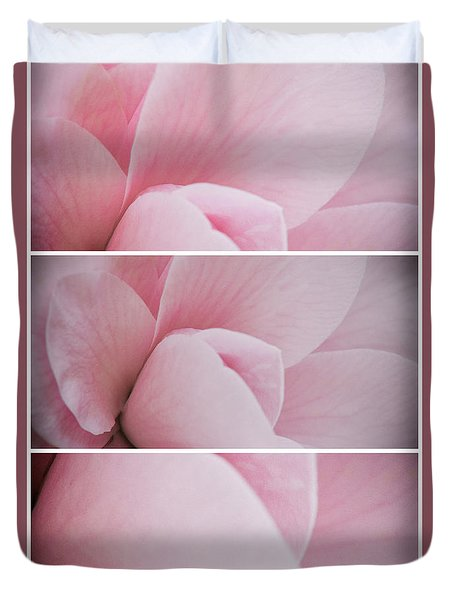 Duvet Cover featuring the photograph The Sum Of The Parts by Linda Lees