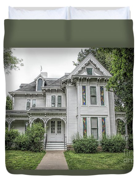 The Summer White House Duvet Cover