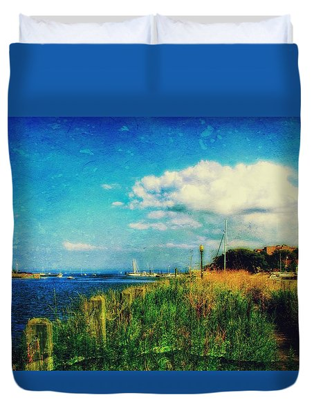 The Summer Wind IIi Duvet Cover
