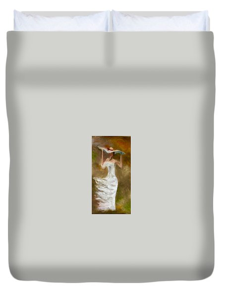 The Summer Wind Duvet Cover