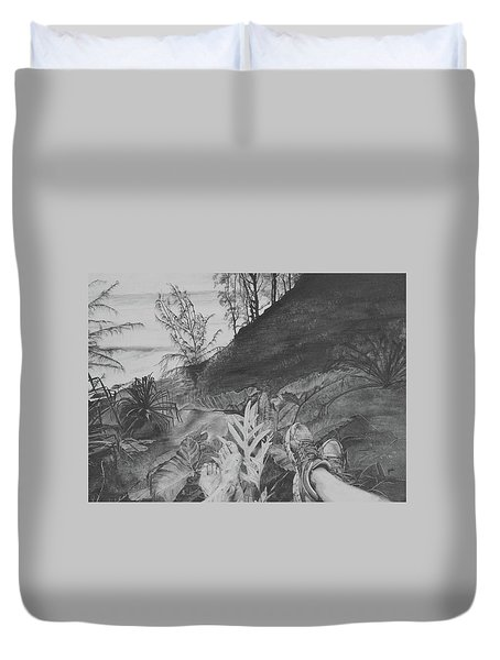 The Summit Duvet Cover by Jane Autry