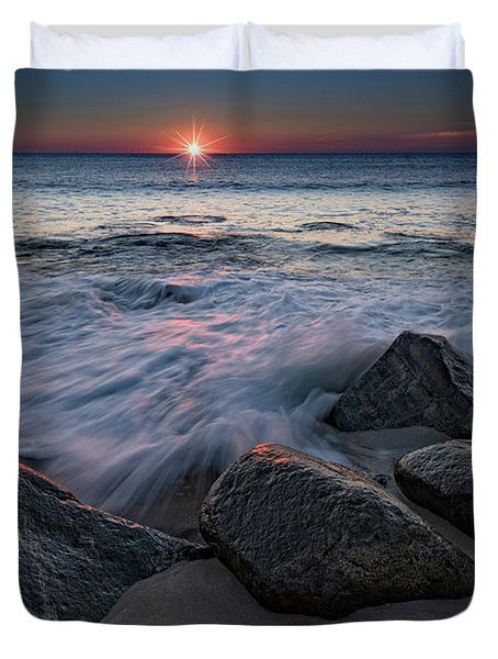 The Sun And The Tide Duvet Cover