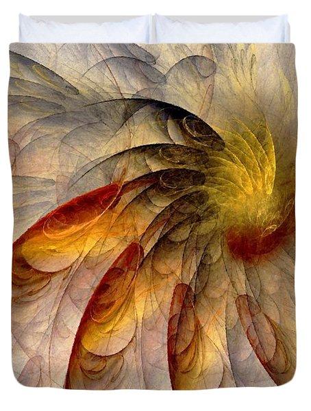 The Sun Do Move - Remembering Langston Hughes Duvet Cover