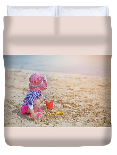 The Sun Will Come Out Duvet Cover