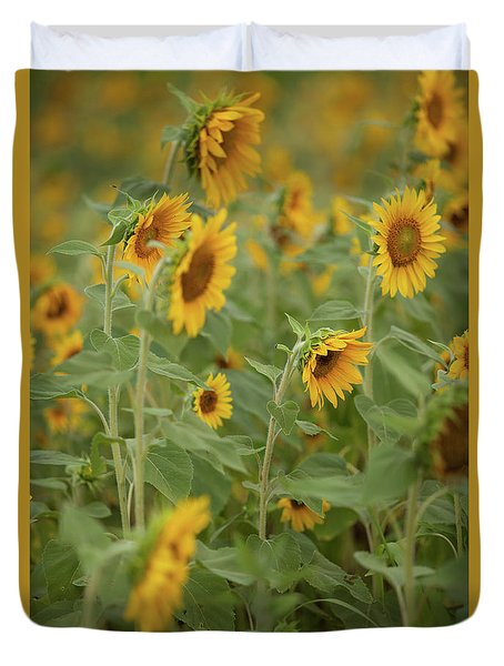 The Sunflower Patch Duvet Cover
