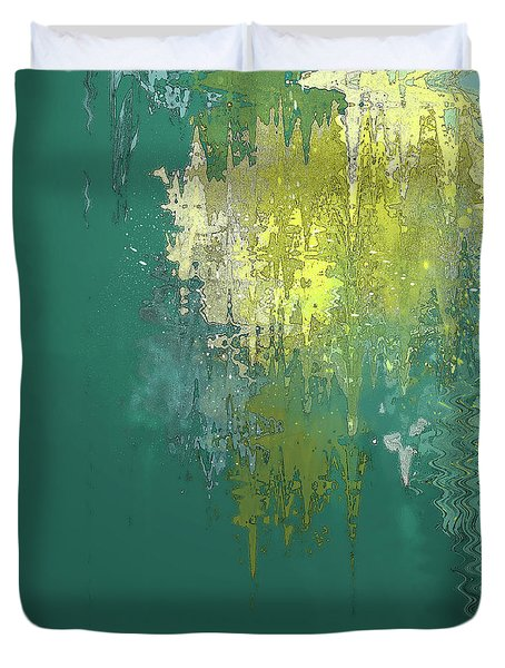 The Sunken Cathedral Duvet Cover