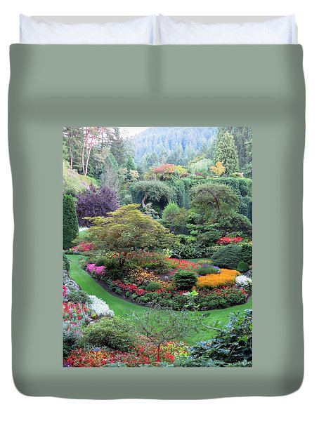 The Sunken Garden Duvet Cover