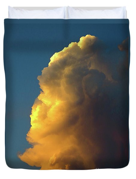 The Sunset Cloud Duvet Cover