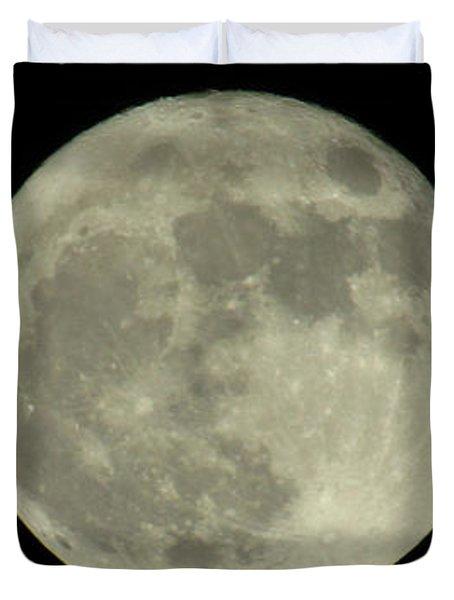 The Super Moon 3 Duvet Cover