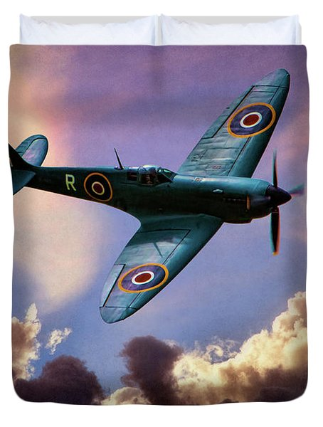 The Supermarine Spitfire Duvet Cover