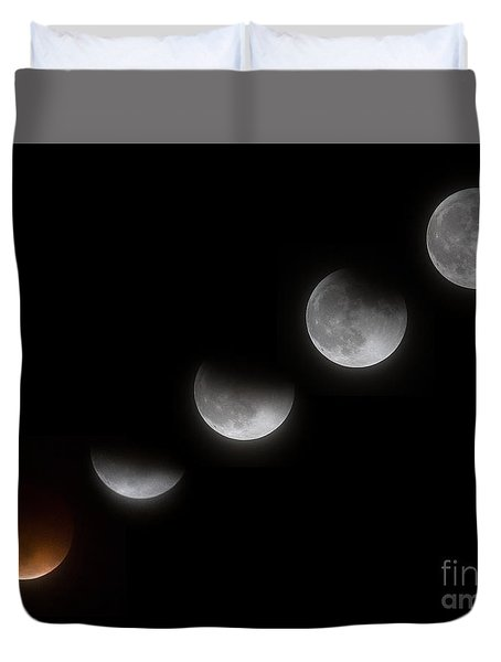 The Supermoon Is Revealed Duvet Cover