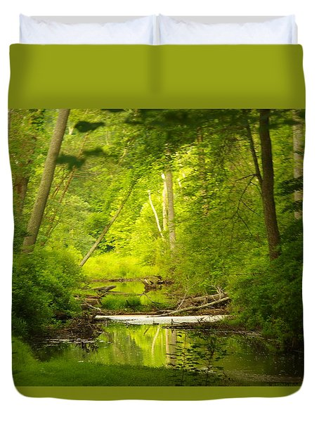 The Swamp Duvet Cover