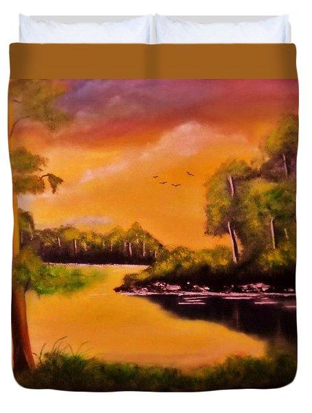 The Swamp Duvet Cover