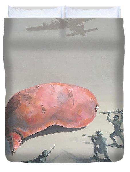 The Sweet Potato Incident Duvet Cover