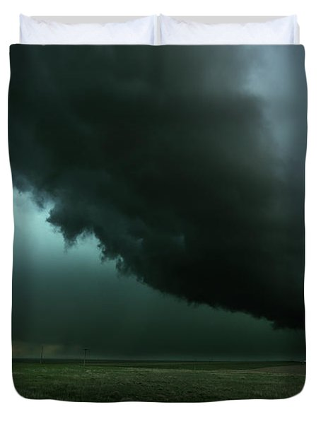 The Tail Of The Storm Duvet Cover