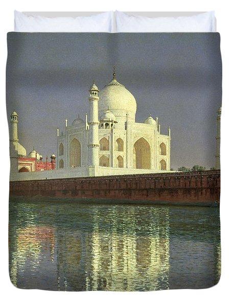 The Taj Mahal Duvet Cover by Vasili Vasilievich Vereshchagin