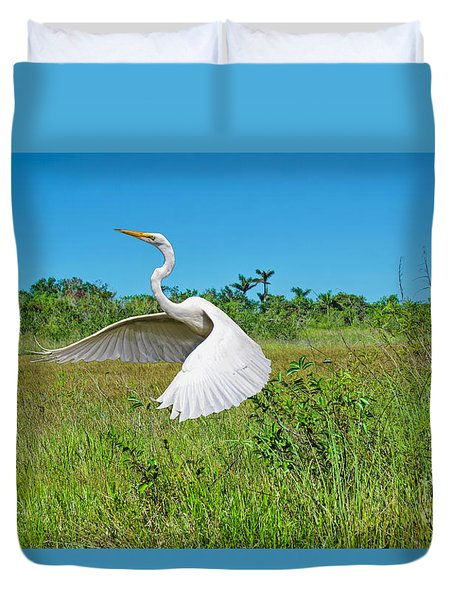 The Take Off Duvet Cover
