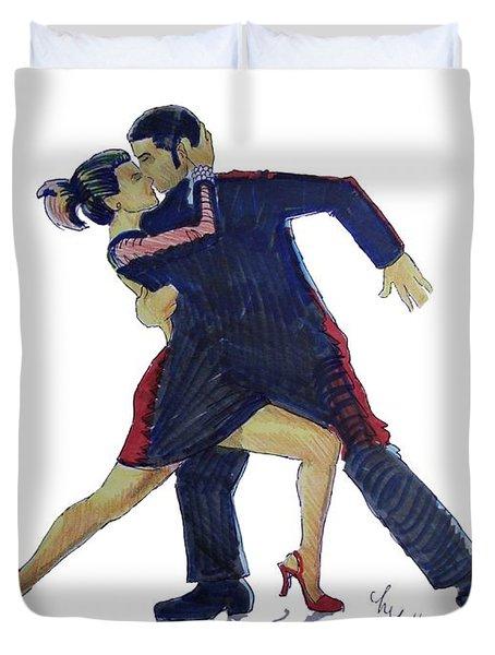 The Tango Duvet Cover