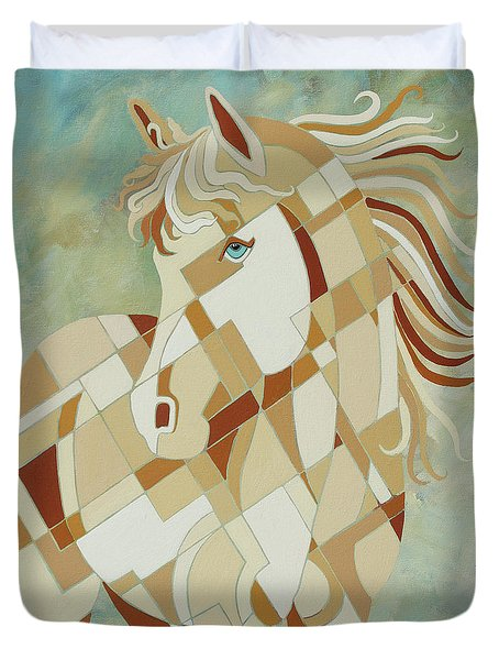 The Tao Of Being Carefree Duvet Cover