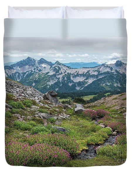 The Tatoosh Range Duvet Cover