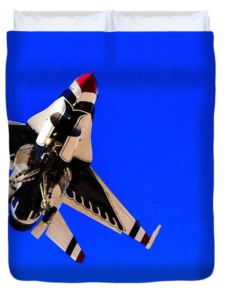The Team Usaf Thunderbirds Duvet Cover