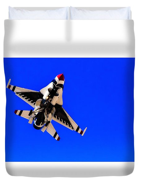 The Team Usaf Thunderbirds Duvet Cover