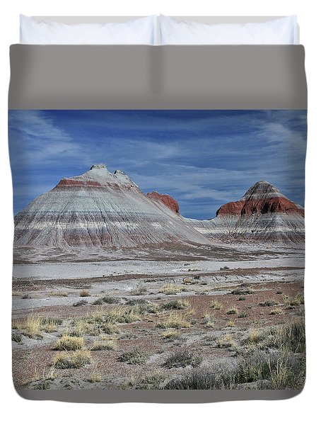 the TeePees Duvet Cover