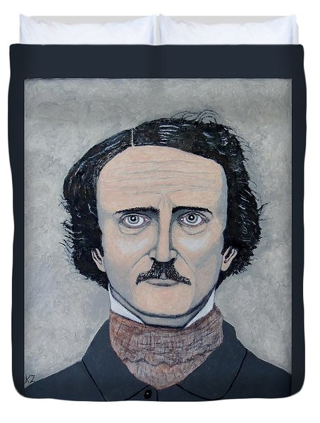 The Telltale Heart Of Edgar Allen Poe. Duvet Cover