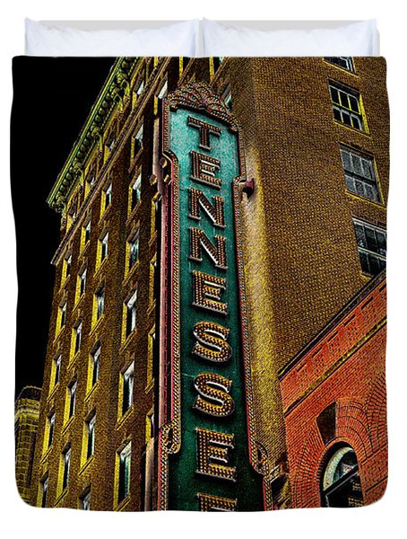 The Tennessee Theater In Knoxville Duvet Cover