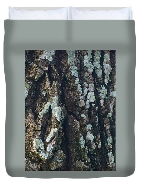 The Texture Is In The Trees1 Duvet Cover