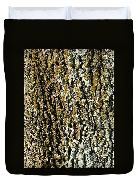 The Texture Is In The Trees2 Duvet Cover