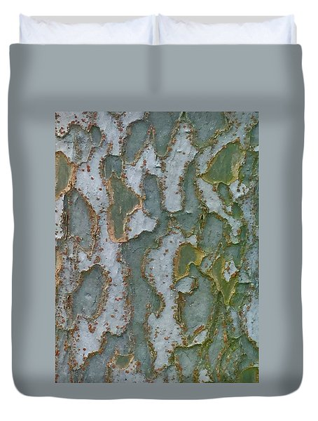The Texture Is In The Trees3 Duvet Cover