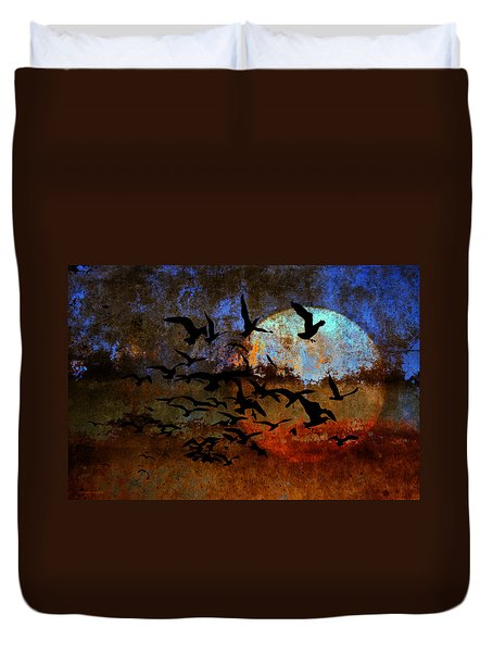 The Texture Of Our Dreams Duvet Cover by Ron Jones