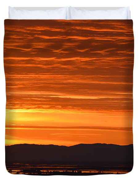 The Textured Sky Duvet Cover