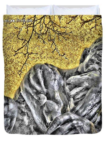 The Thinker - Study #1 Duvet Cover