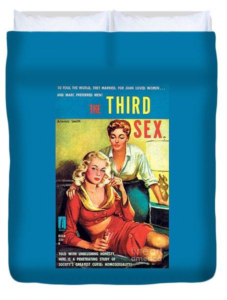 The Third Sex Duvet Cover by Robert Stanley