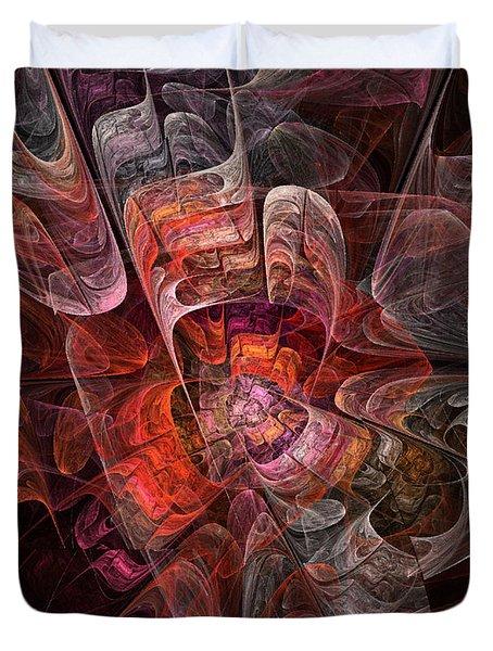 The Third Voice - Fractal Art Duvet Cover