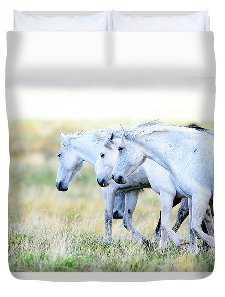The Three Amigos Duvet Cover